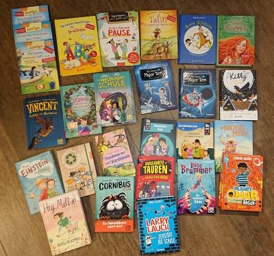 Bücherspenden für die Klassenbibliotheken